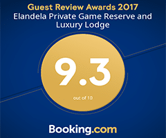 Elandela Private Game Reserve & Luxury Lodges Bookings.com Reward